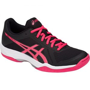 ASICS Women's Gel-Tactic 2 Volleyball Shoes, Black/Pink Pixel