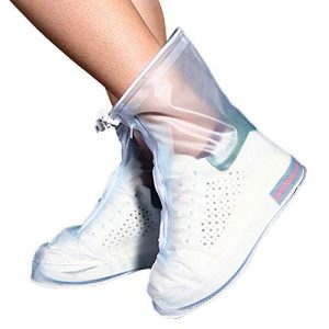 yuyi Reusable Rain Shoes Boots Covers, Rain Snow Waterproof Shoe
