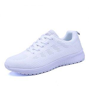 PAMRAY Women's Running Shoes Tennis Athletic Jogging Sport Walking Sneakers