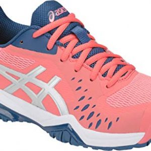 ASICS Gel-Challenger 12 Women's Tennis Shoe, Papaya/Grand Shark