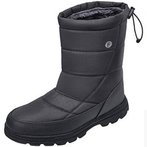 Crova Mens Womens Snow Boots Winter Lightweight Anti-Slip Waterproof