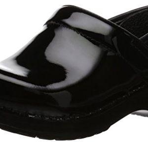 Dansko Women's Professional Patent Leather Clog,Black Patent