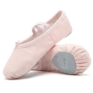 Ballet Shoes Ballet Slippers Girls Ballet Flats Canvas Dance Shoes Yoga Shoes(Toddler/Little Kid/Big Kid/Women/Boy) Pink