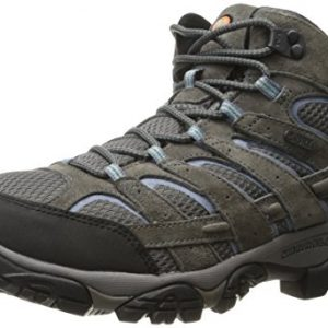 Merrell Women's Moab 2 Mid Waterproof, Granite