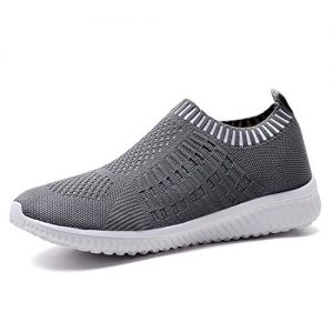 TIOSEBON Women's Athletic Walking Shoes Casual Mesh-Comfortable