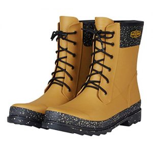 UNICARE Waterproof Rain Boots for Women and Men Mid-Calf Rain Shoes