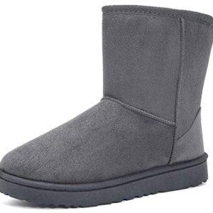 MOERDENG Women's Ankle Boot Winter Outdoor Slip On