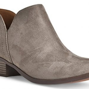 Women's Madeline Western Almond Round Toe Slip on Bootie