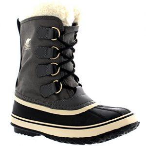 Sorel Women's Winter Carnival Boot,Pewter/Black