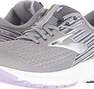 Brooks Women's Adrenaline 19 Grey/Lavender/Navy