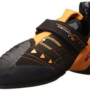 SCARPA Instinct VS Climbing Shoe-U, Black/Orange