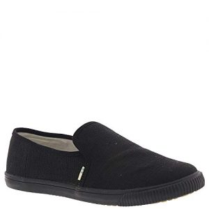 TOMS Women's Clemente Burlap Slip-On Black