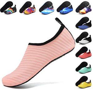 ANLUKE Water Shoes Barefoot Aqua Yoga Socks Quick-Dry Beach