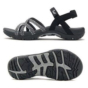 Viakix Walking Sandals Women- Athletic Sport Sandals