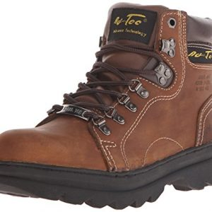 "AdTec Women's 6"" Steel Toe Work Boot Brown-W"