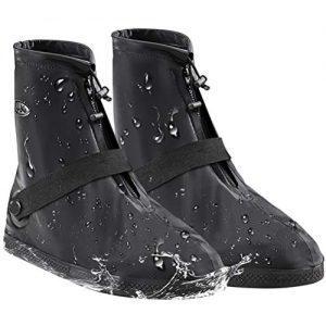 AMZQJD Waterproof Rain Shoes Boots Covers for Women Men
