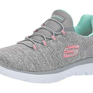 Skechers Women's Summit - Quick Getaway Grey/Mint