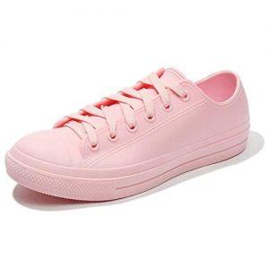 fazoc Women's Rain Shoes Waterproof Anti Slip Garden Shoes