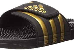 adidas Adissage Slide Sandal, Black, 11 M US