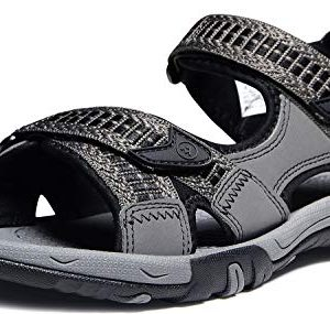 ATIKA Men's Sports Hiking Outdoor Trail Water Sandals, Havana