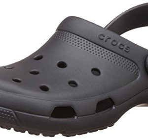 Crocs Unisex Coast Clog Graphite 8 Women