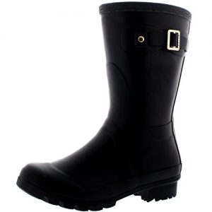 Womens Original Short Festival Waterproof Wellie Snow Wellingtons Boots