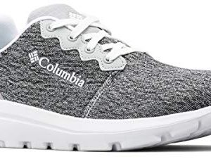 Columbia Women's BACKPEDAL Outdry Sneaker, steam, White