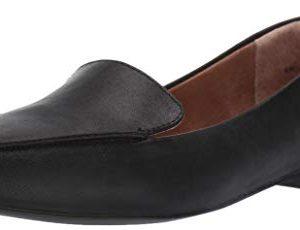 Amazon Essentials Women's Loafer Flat, Black