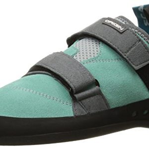 SCARPA Women's Origin WMN Climbing Shoe, Green Blue/Smoke