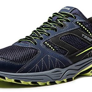 TSLA Men's Outdoor Sneakers Trail Running Shoe