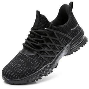 QAUPPE Women's Air Athletic Tennis Running Shoes Breathable Gym