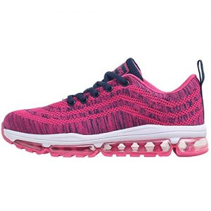 Impdoo Womens Air Cushion Tennis Running Shoes Lightweight Walking Fitness
