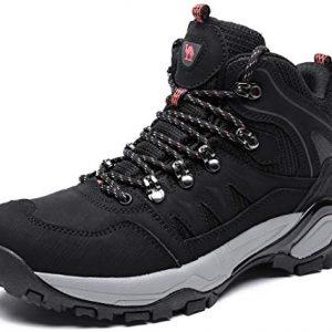 CAMEL CROWN Mid Hiking Boots Women Outdoor Lightweight Non-Slip Work