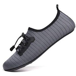 VanciLin Women's Men's Water Shoes Barefoot Quick-Dry Aqua Socks