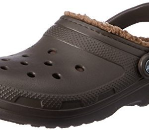 Crocs Classic Lined Clog, Espresso/Walnut