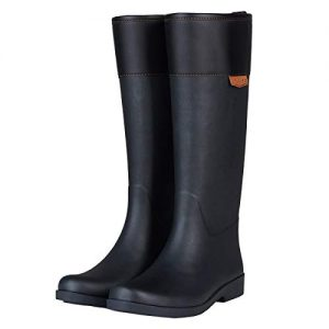 UNICARE Women's Mid-Calf Rain Boots Waterproof Rain Shoes Nonslip