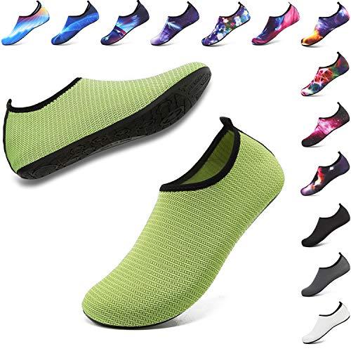 ANLUKE Womens Mens Water Shoes Barefoot Quick-Dry Aqua Socks