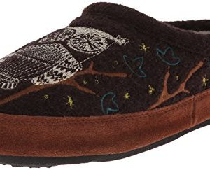 Acorn Women's Forest Mule, Chocolate Owl