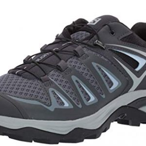 SALOMON Women's X Ultra 3 W Hiking Shoe, Stormy Weather/Ebony/Cashmere