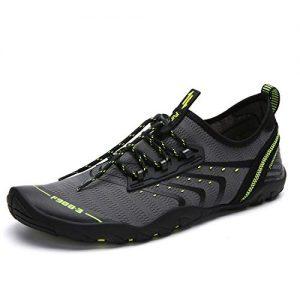 SAGUARO Men's Women's Lightweight Barefoot Aqua Sports Water Shoes