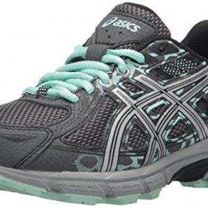 ASICS Women's Gel-Venture 6 Running-Shoes,Castlerock/Silver/Honeydew