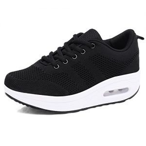 Hishoes Women Comfort Walking Shoes Casual Tennis Lightweight Sneakers