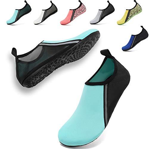 VIFUUR Womens Mens Water Shoes Breathable Aqua Socks