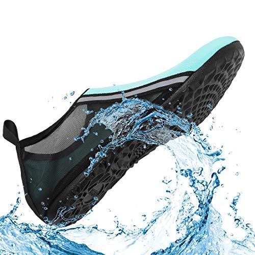 VIFUUR Womens Mens Water Shoes Breathable Aqua Socks Product data: