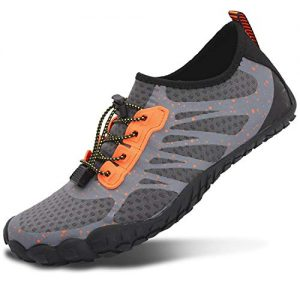 L-RUN Women Water Aqua Shoes Outdoor Quick Dry Orange Women