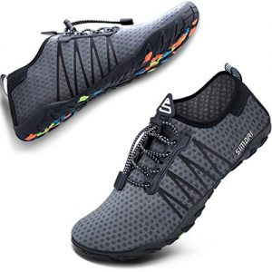 SIMARI Womens Mens Sports Water Shoes Quick Dry Barefoot