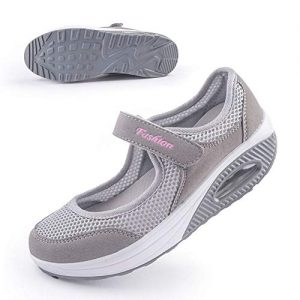 Women's Comfort Working Nurse Shoes Adjustable Breathable Wedges