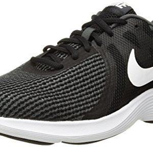 Nike Women's Revolution 4 Running Shoe, Black/White-Anthracite