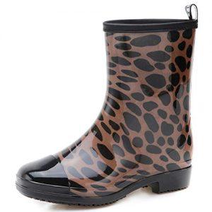 JOINFREE Womens Waterproof Rain and Garden Boot Lightweight Rubber Shoes