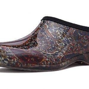 Charles Albert Women's Waterproof Rain and Garden Shoe Slip On Low Boot